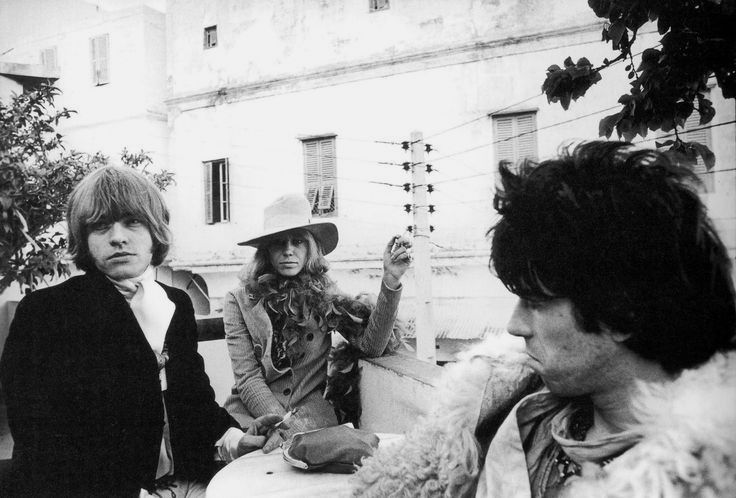 Brian Jones, Anita Pallenberg & Keith Richards à Tanger, 1967
